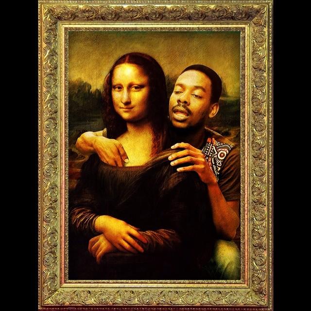 Adekunle Gold With The Mona Lisa