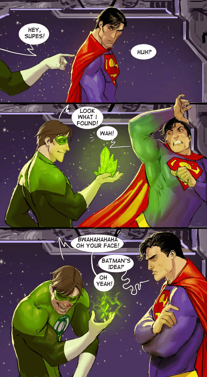Superman pranked